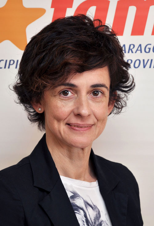 María Carmen Sahún Obis, alcaldesa de Estadilla
