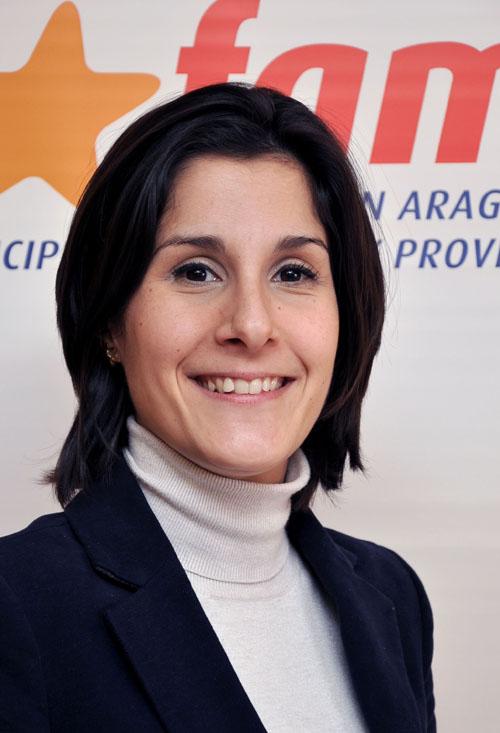 Esther Salo Urrea, alcaldesa de Ballobar