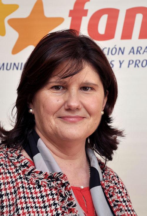 Julia Vicente Lapuente, alcaldesa de Alcorisa