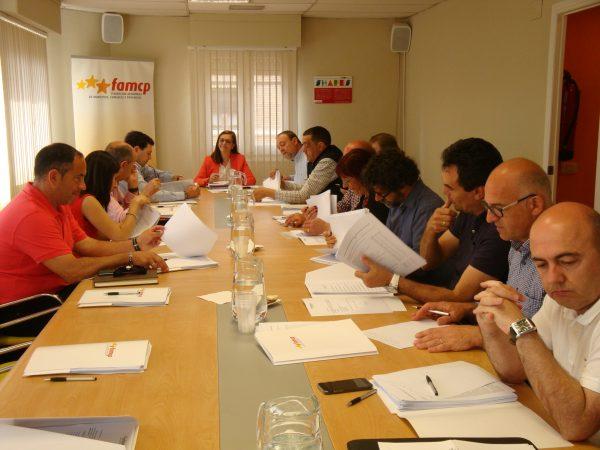 Reinversión del superávit, formación continua y servicios sociales centran la reunión de la Ejecutiva