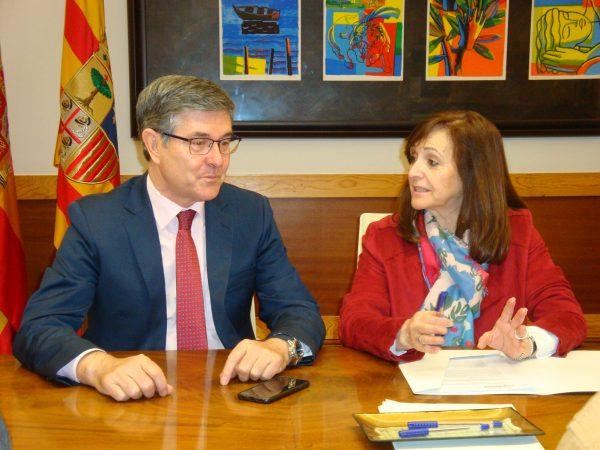 El Gobierno presenta a la FAMCP el anteproyecto de ley sobre la participación de los municipios en los ingresos de Aragón