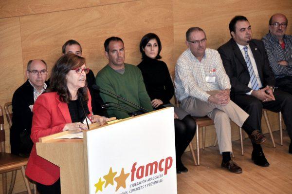 Carmen Sánchez,presidenta de la FAMCP, nueva delegada del Gobierno en Aragón