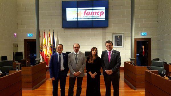El alcalde de Zuera, Luis Zubieta, nuevo presidente de la FAMCP