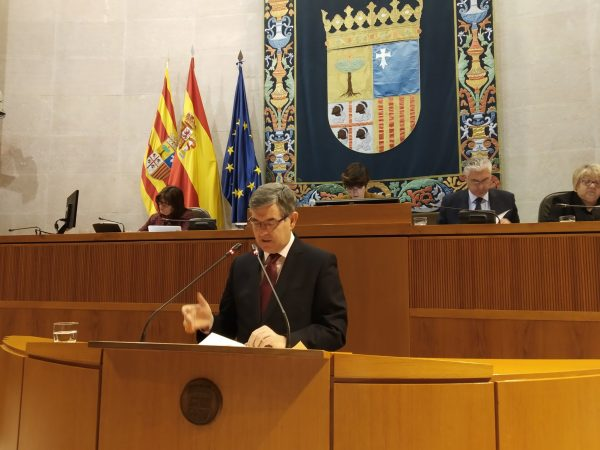 El proyecto de ley del Fondo Aragonés de Financiación Municipal supera el debate de totalidad y sigue su tramitación parlamentaria