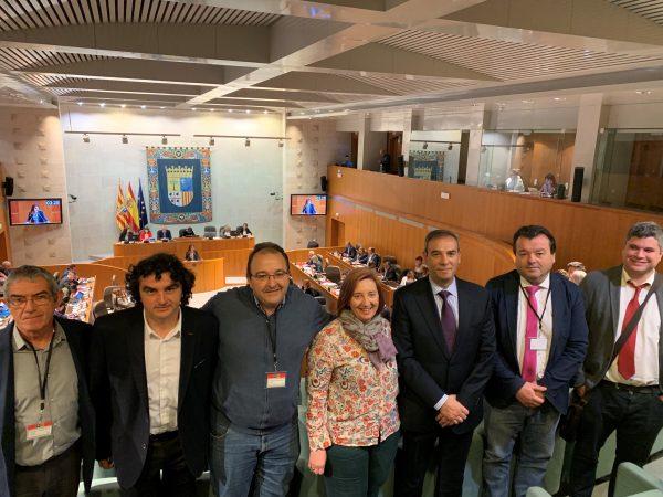 Las Cortes de Aragón aprueban la creación de la Comarca Central