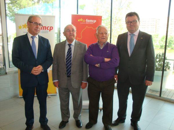 Homenaje a los cinco alcaldes aragoneses más veteranos