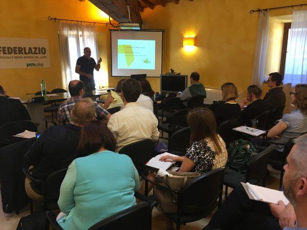 Los socios del proyecto Ratio intercambian experiencias en Viterbo, región del Lazio