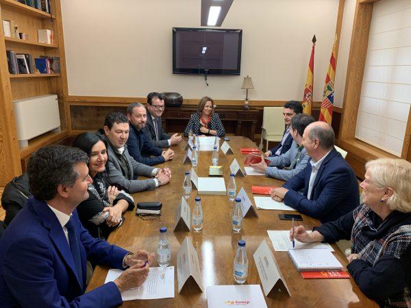 El Gobierno de Aragón avanza en la Ley del nuevo Fondo de Financiación Municipal