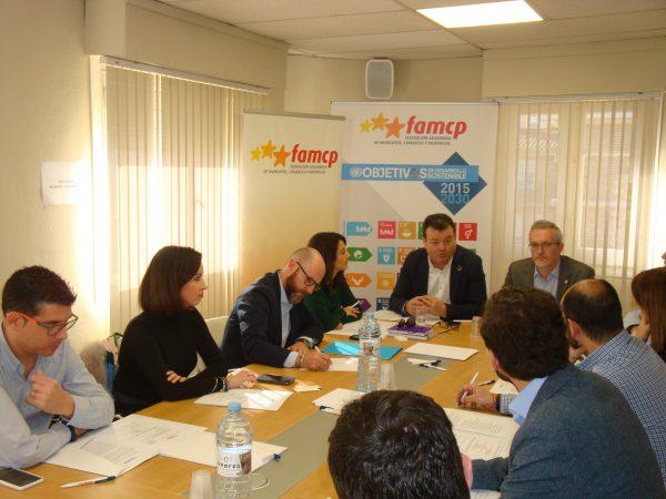 La Comisión de municipios de más de 8.000 habitantes de la FAMCP marca sus objetivos