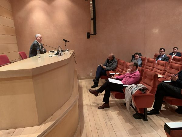 Reunión de coordinación del Consejo Local de Aragón