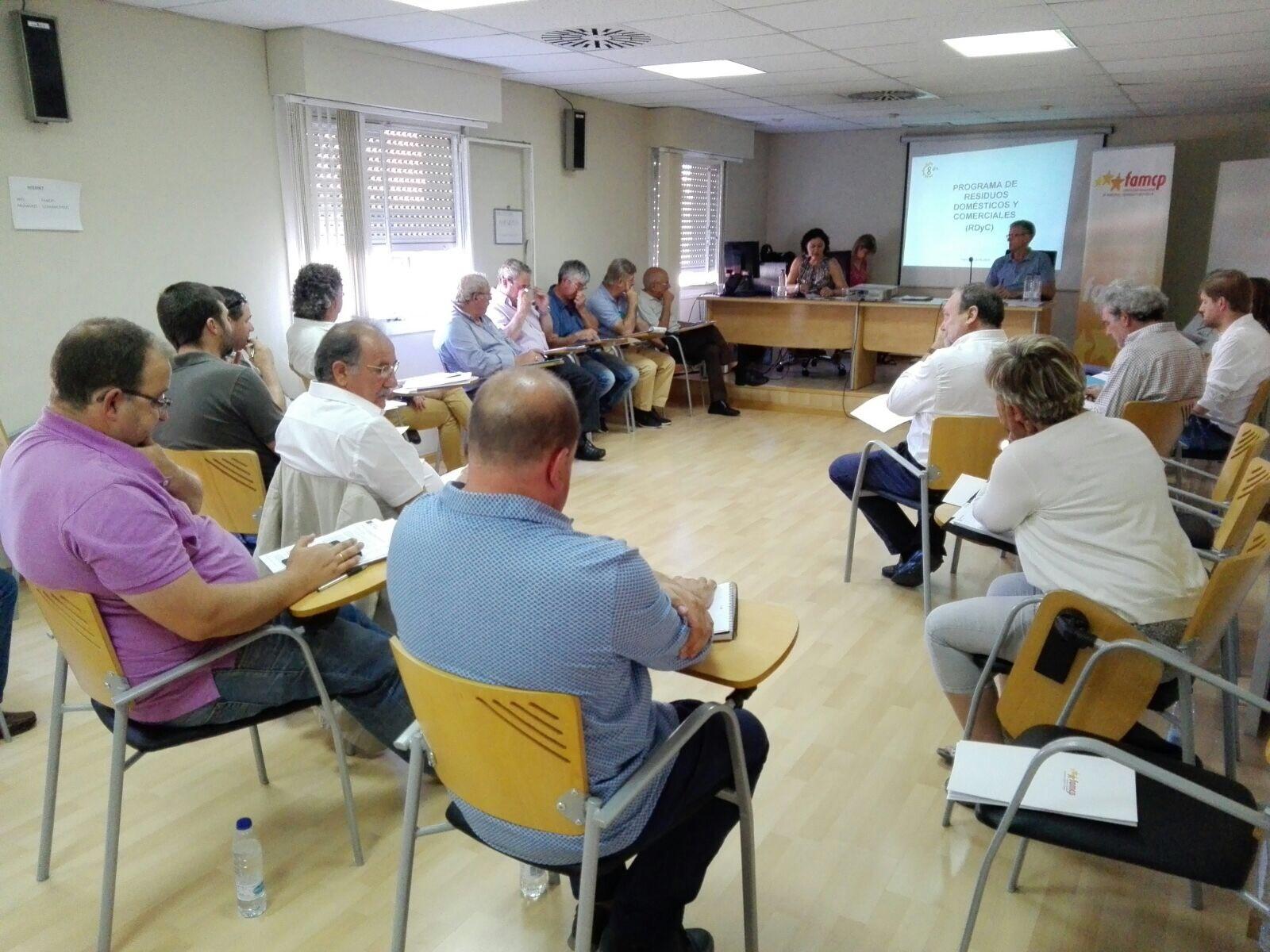 Comisión de Comarcas de la FAMCP