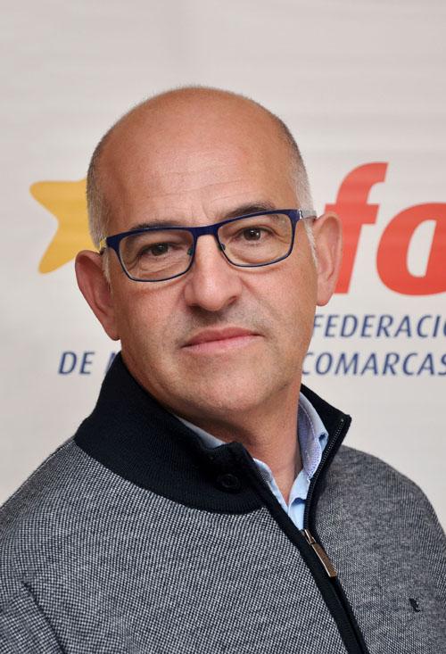 Francisco Villellas Laín, alcalde de Sariñena
