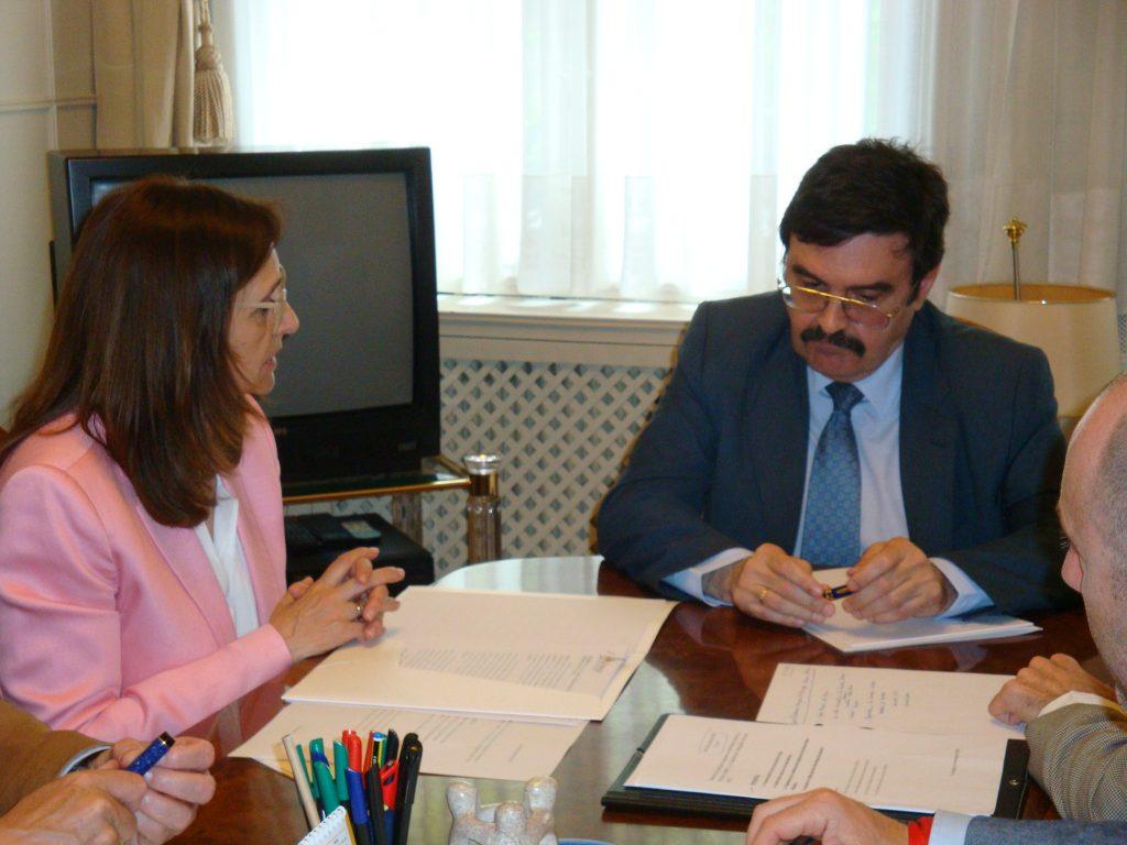 Reunión de la FAMCP con el presidente de la CHE