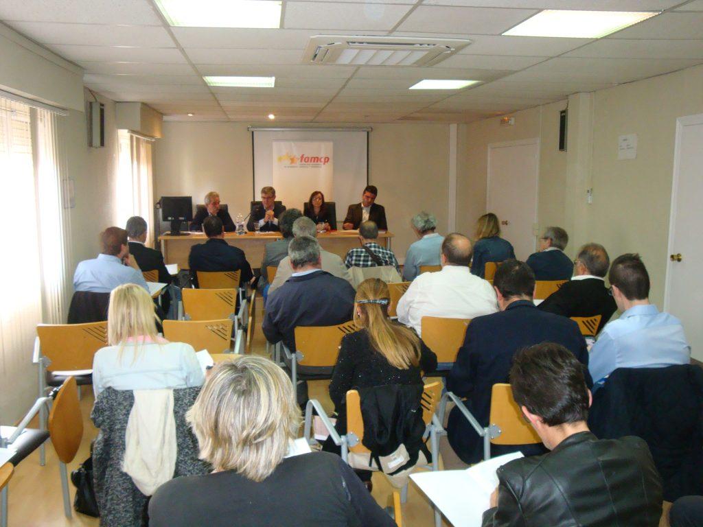 Presidentes comarcales se reúnen con el consejero Guillén