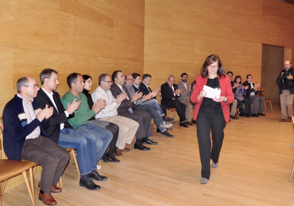 Carmen Sánchez en la Asamblea
