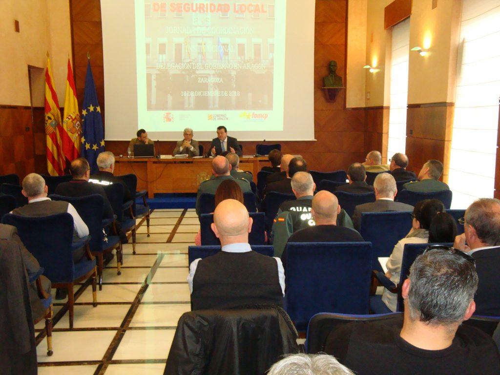 El presidente de la FAMCP en la reunión en la Delegación del Gobierno