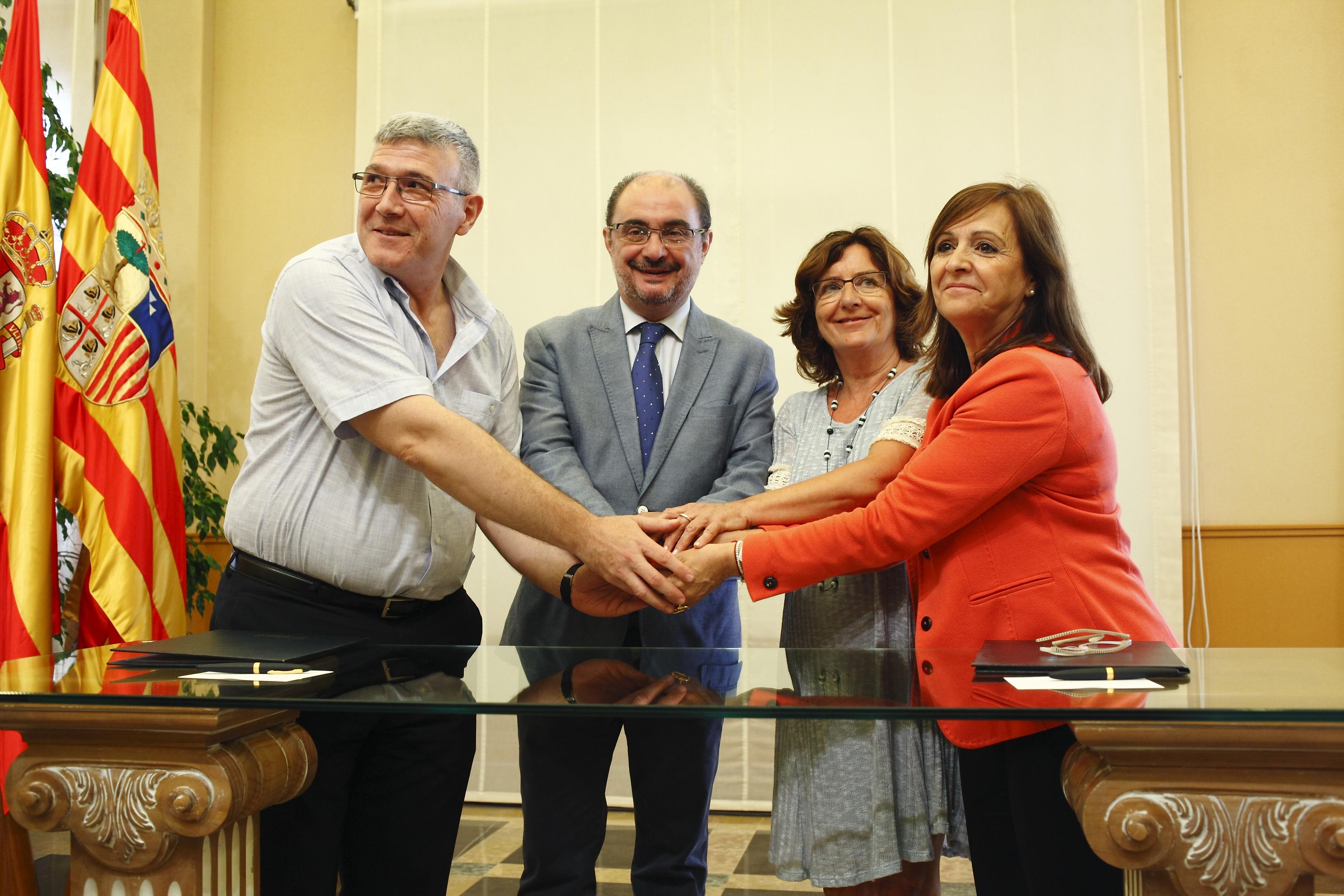 Firma Convenio FAMCP - IASS