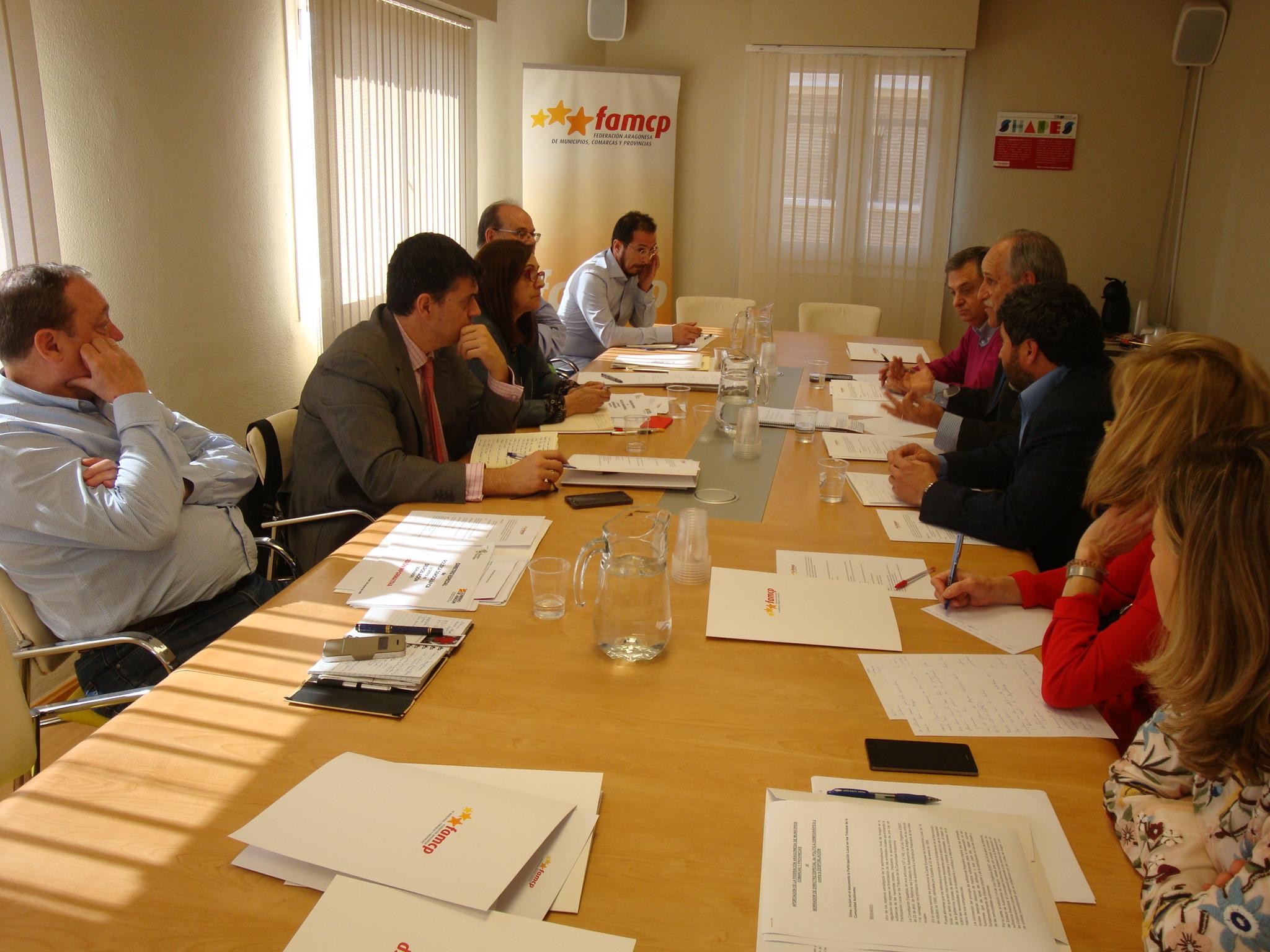 El encuentro se celebró en la sede de la Federación.