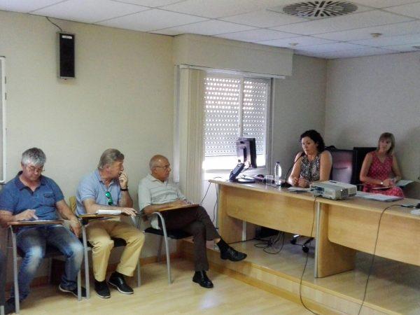 La directora general de Sostenibilidad presenta el Plan GIRA en la Comisión de Comarcas de la Federación