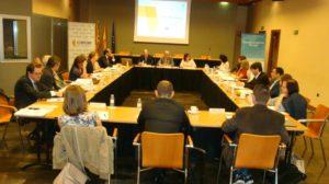La primera sesión de trabajo se ha celebrado en la sede de la CEOE Aragón.