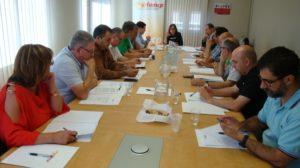 Reunión de la Comisión Ejecutiva y el Consejo de la Federación Aragonesa de Municipios, Comarcas y Provincias (FAMCP)
