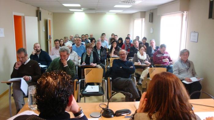 El Consejo de la FAMCP, en la sesión celebrada el 10 de febrero.