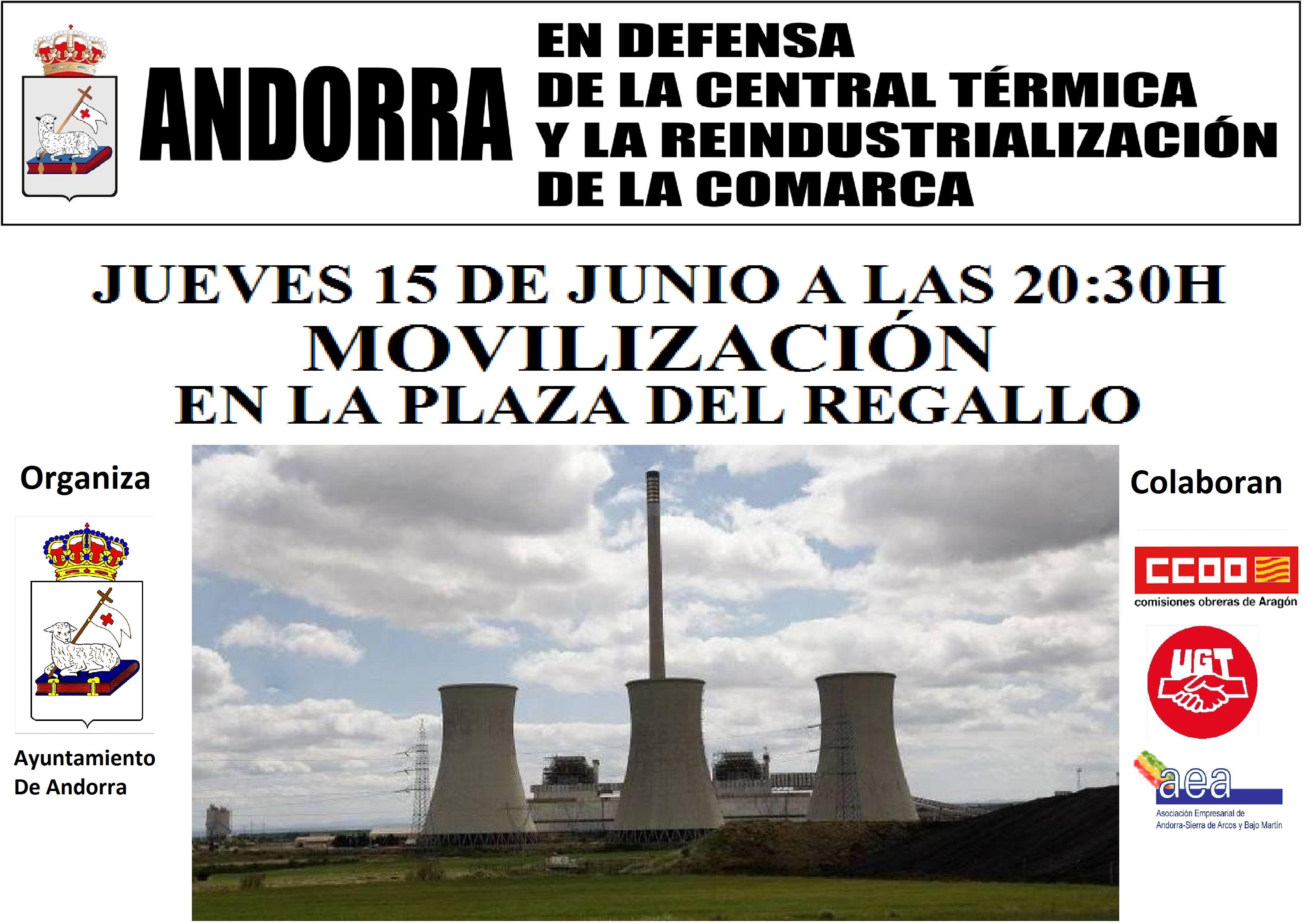 Movilización en Andorra