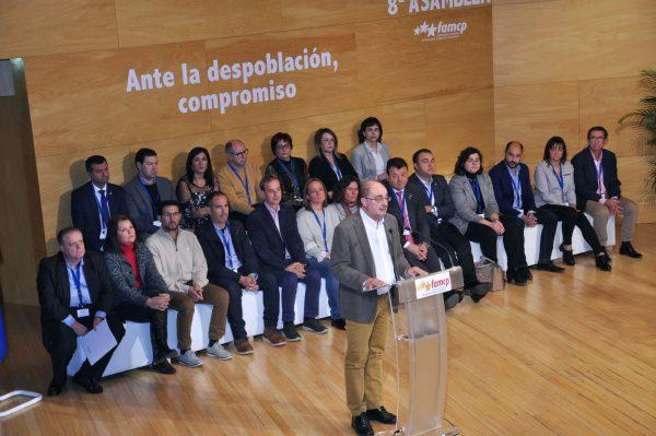 Lambán se compromete a reiniciar la tramitación del Fondo Aragonés de Financiación Municipal
