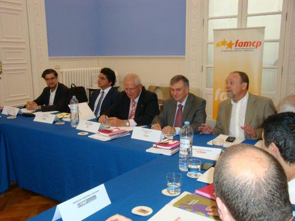 La FAMCP reúne a las federaciones territoriales de municipios para tratar sobre financiación local