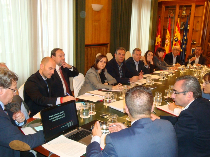 La Comisión de Municipios de mas de 8000 habitantes se reúne en el Ayuntamiento de Zaragoza