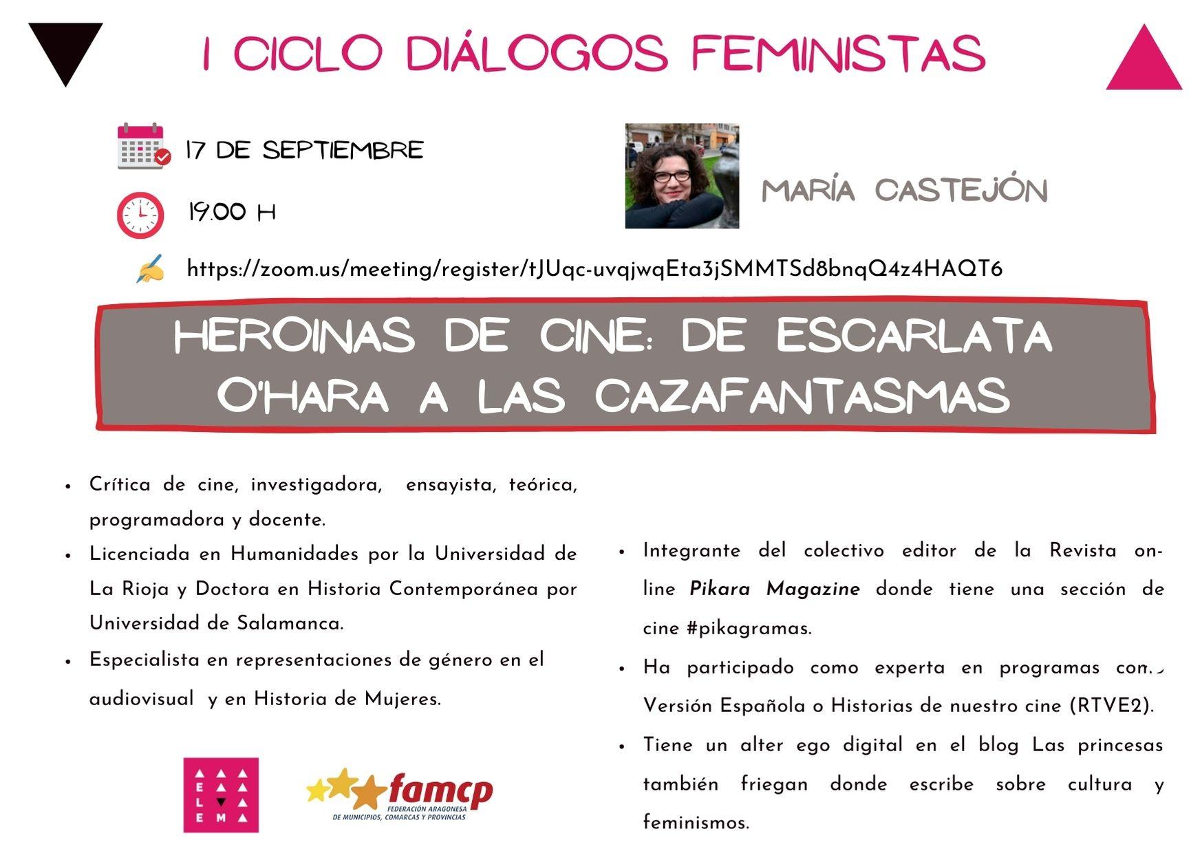 María Castejón Jornadas Feministas