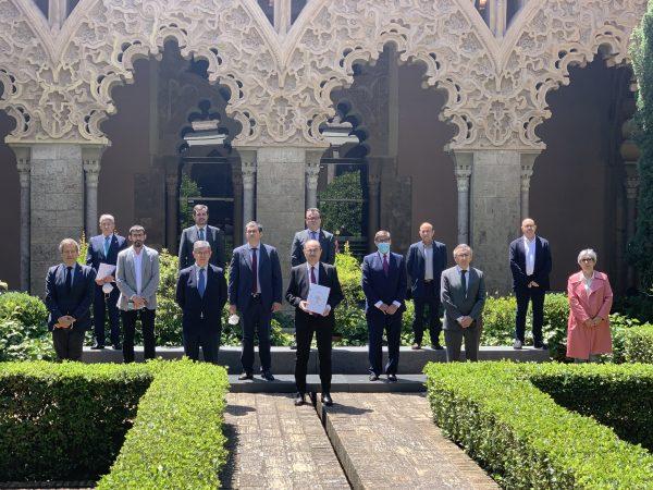 Aragón presenta su Estrategia para la Recuperación Social y Económica con 273 propuestas consensuadas