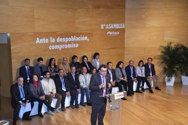 El alcalde de Zuera, Luis Zubieta, relegido presidente de la FAMCP