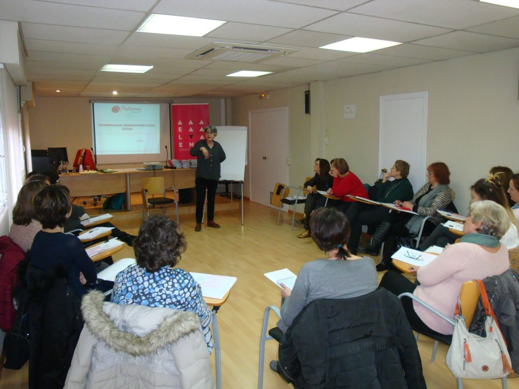 Imagen del taller desarrollado en Zaragoza.