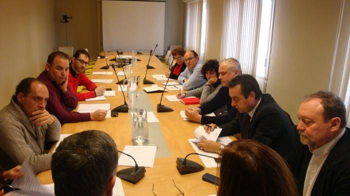La Comisión de Pequeños Municipios y Despoblación está compuesta por once miembros.