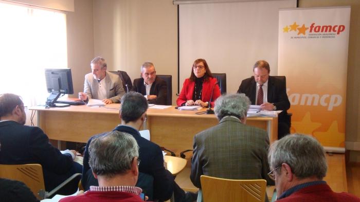 Desde la izquierda, José Antonio Ramo, Evaristo Cabistañ, Carmen Sánchez y Martín Nicolás.